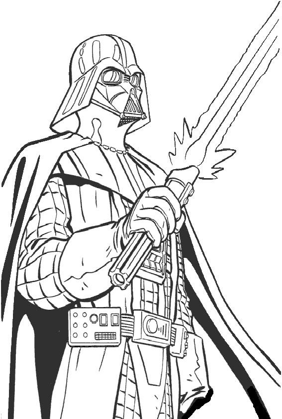 Ausmalbilder Star Wars-1