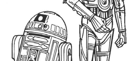 Ausmalbilder Star Wars-13