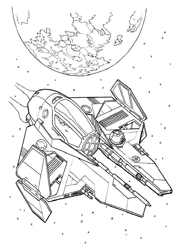 Ausmalbilder Star Wars-19