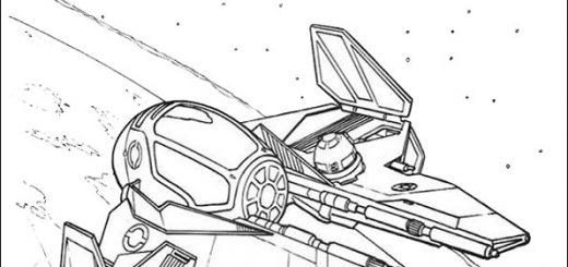 Ausmalbilder Star Wars-2