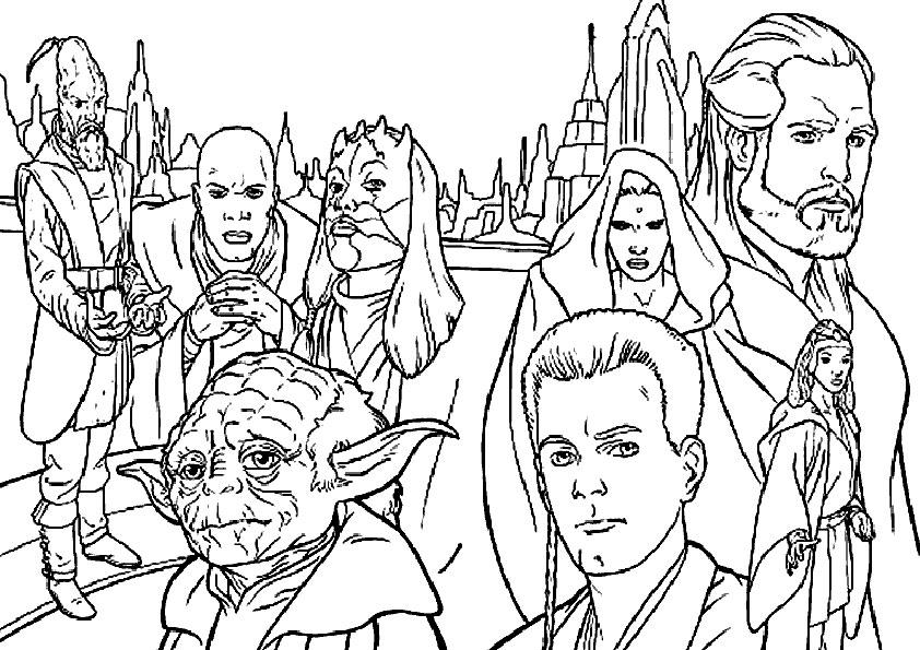 Ausmalbilder Star Wars-3
