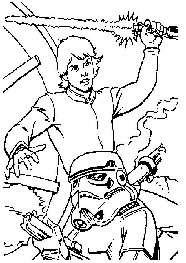 Ausmalbilder Star Wars-4