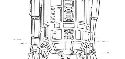 Ausmalbilder Star Wars-6