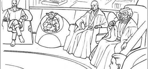 Ausmalbilder Star Wars-8