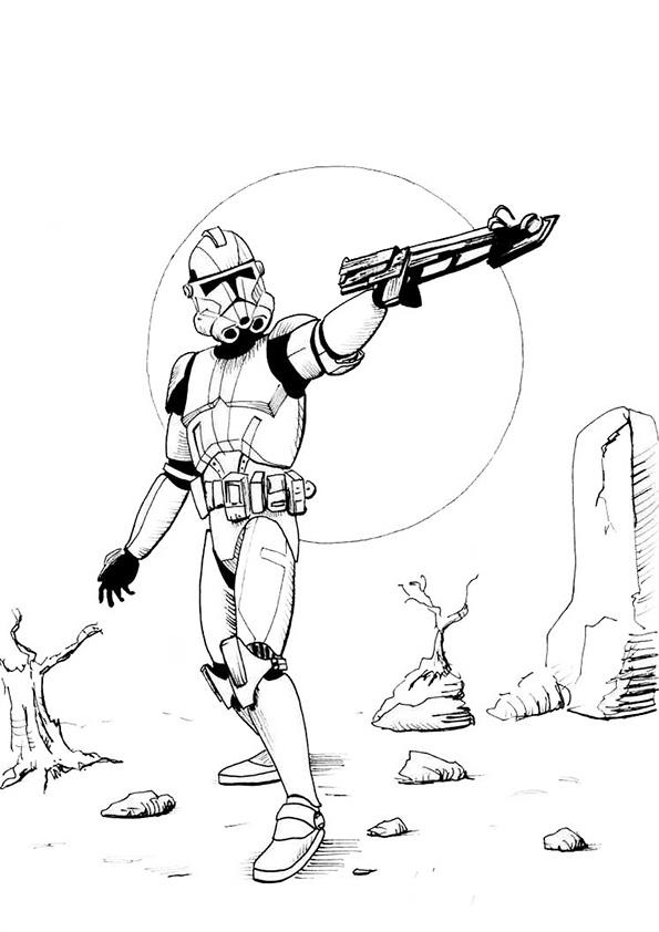 Ausmalbilder Star Wars-42