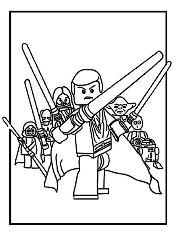 Ausmalbilder Star Wars Lego 2 Ausmalbilder Star Wars