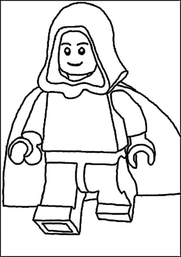 star wars lego-13 | Ausmalbilder Star Wars