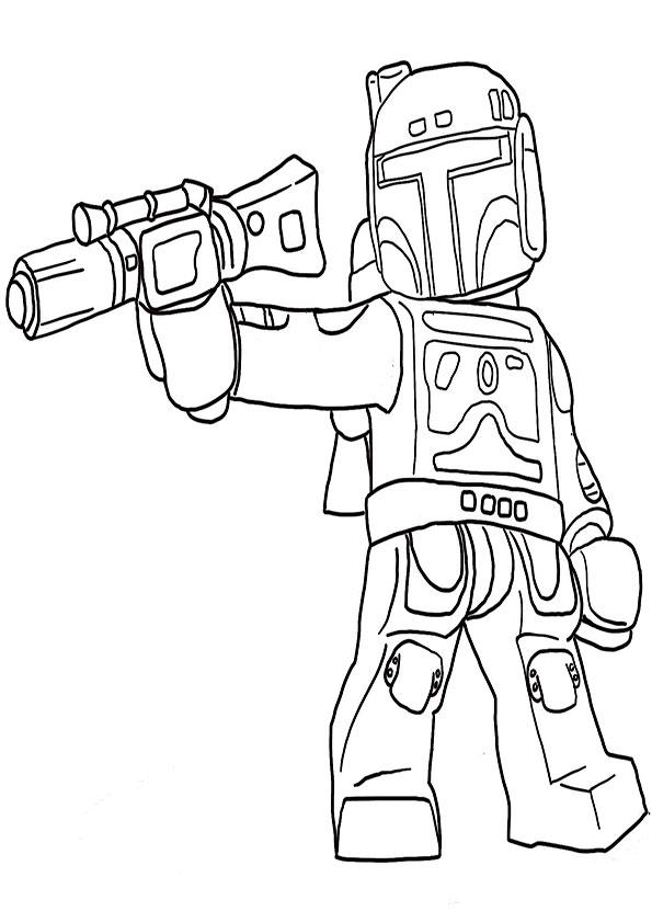 ausmalbilder  star wars lego -8
